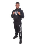 BLACK HOODIES TRACKSUIT