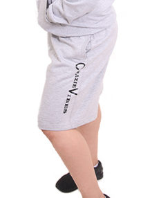 GREY HOODIES SHORT
