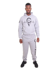 GREY HOODIES TRACKSUIT